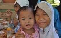 A program with the community of 'Pusat Jagaan Baitussakinah'